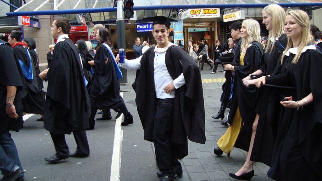 University Graduation Photo